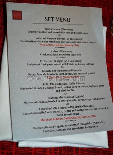 North Italy Food Festival, Alto Vino, Marriott, Bangalore