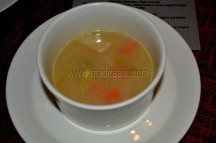 La Cisra (chickpeas coup and winter vegetables)