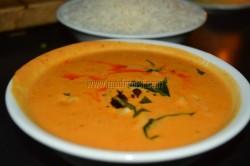 Thai red prawn curry