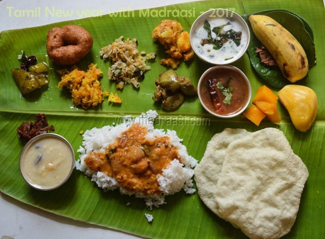 tamil new year, tamil new year meals, tamil new year 2017, happy tamil new year, tamil newy year recipes, tamil new year recipe, tamil new year food, tamil new year meals, tamil new year 2017 meals, tamil recipes, tamil recipe, tamil meals, tamil meals recipe, tamil vegetarian meals recipe, tamil vegetarian meals, festival recipe, new year meals, new year meals recipe, tamil cuisine, tamilian cooking, banana leaf meals, meals in banana leaf, south Indian meals, south Indian banana leaf meals, picture of south Indian meals, image of south Indian meals, picture of tamil new year meals, image of tamil new year meals, image of banana leaf meals, picture of banana leaf meals