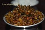French Beans Stir-Fry, beans poriyal french beans stir-fry, tamil recipe, tamil recipes, image of french beans stir-fry, image of french beans stir fry, picture of french beans stir-fry, french beans stir-fry picture