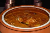 Dalcha Gosht - mutton pieces are cooked in channa dal / split bengal gram