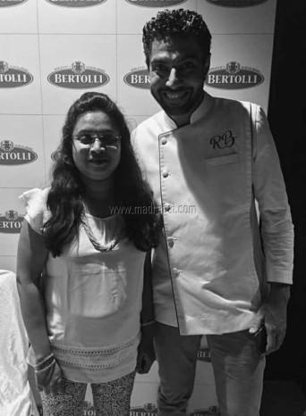 Madraasi with Master Chef. Ranveer Brar