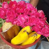 To temple for pooja