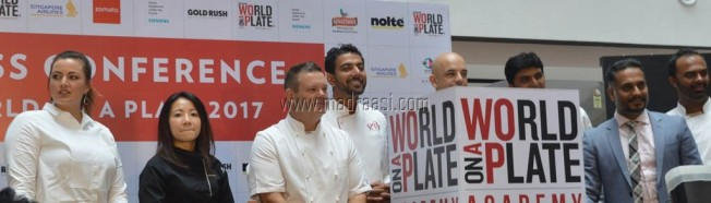 Press Release for World On A Plate - 2 at VR Bengaluru, Bangalore, press release of world on a plate 2017, world on a plate 2017, world on a plate bangalore