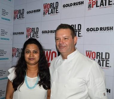 Madraasi with Master Chef. Gary Mahigan