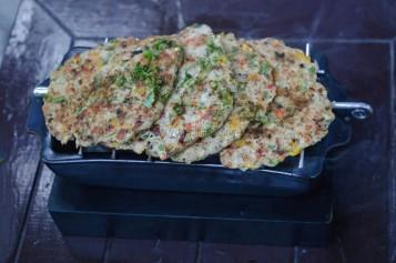Murgh Chapli Kebab