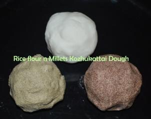 How to make kozhukattai maavu, How to make Modak Dough, How to make millets modak dough, How to make siruthaniya kozhukattai maavu, siruthaniya kozhukattai maavu recipe, millets modak recipe, millets kozhukattai recipe, ragi kozhukattai maavu recipe, kambu kozhukattai maavu recipe, bajra modak dough recipe, kelviragu kozhukattai maavu recipe, modak dough for beginners, easy modak dough preparation for beginners, kozhukattai maavu seimurai for beginners