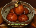 Instant Bread Jamun recipe, How to make Gulab jamun with Bread, Gulab Jamun recipe, Instant bread gulab jamun picture, Instant bread gulab jamun image, gulab jamun pic, gulab jamun photo, perfect bread gulab jamun recipe, Diwali 2017, Deepavali 2017, tamil sweets recipe, Indian sweets recipe, tamil Diwali recipe, tamil Deepavali recipes, south Indian sweets recipes, south Indian festival recipes