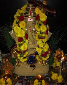 Vinayagar Chaturthi - 2017 celebrations at our home