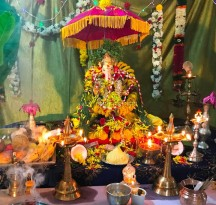 Vinayagar Chaturthi - 2017 celebrations at our Apartment