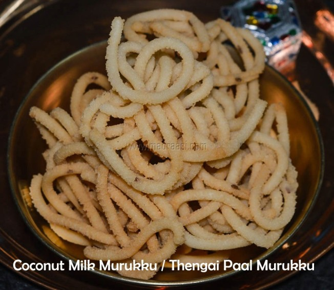 coconut milk murukku, coconut milk murukku recipe, thengai paal murukku, thengai paal murukku recipe, image of thengai paal murukku, picture of thengai paal murukku, coconut milk murukku image, coconut milk murukku picuture, murukku picutre, murukku image, diwali recipe, diwali 2017, diwali snacks recipe, tamil recipe, tamil food, madraasi, madraasi recipes, immadraasi, food, easy cooking,