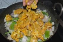 wtih marinated chicken