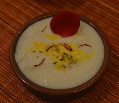 Sahi Phirni