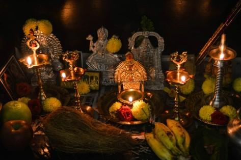 Madraasi Deepavali Celebrations at home / Diwali celebration 2017