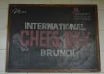 International Chef's Day Celebration at Marriott, Whitefield,Bangalore